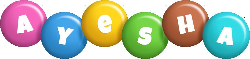 Ayesha candy logo