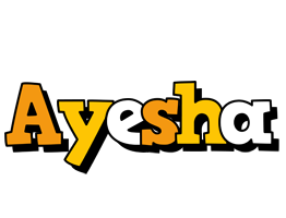 Ayesha cartoon logo