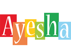 Ayesha colors logo