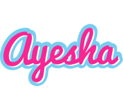 Ayesha popstar logo