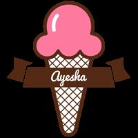 Ayesha premium logo