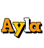 Ayla cartoon logo