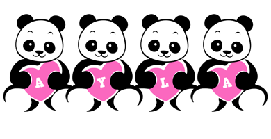 Ayla love-panda logo