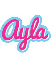 Ayla popstar logo
