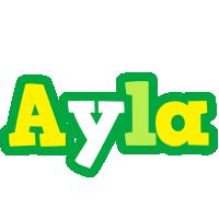 Ayla soccer logo