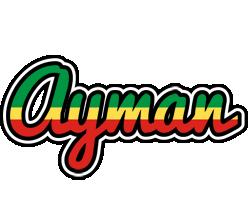 Ayman african logo
