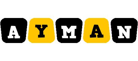 Ayman boots logo