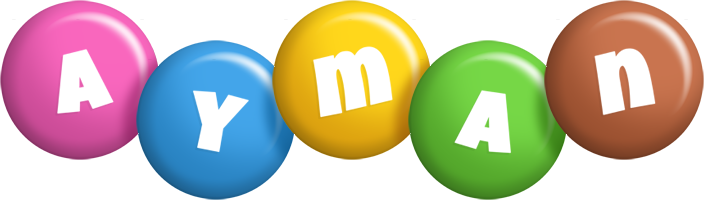 Ayman candy logo