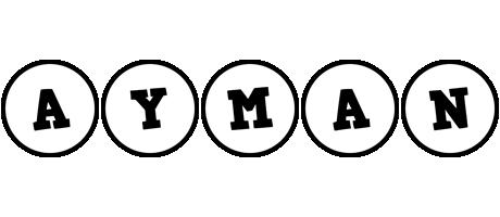 Ayman handy logo