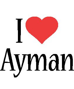 Ayman i-love logo