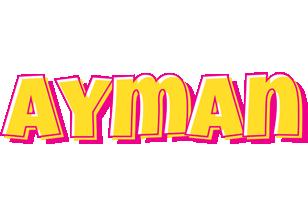 Ayman kaboom logo