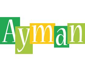 Ayman lemonade logo