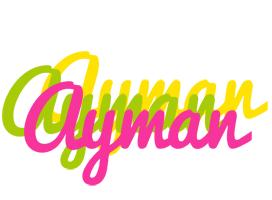 Ayman sweets logo