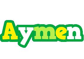 Aymen soccer logo