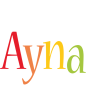 Ayna birthday logo