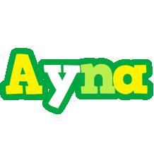 Ayna soccer logo