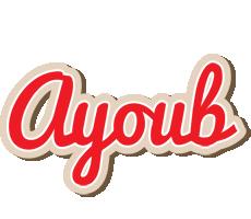 Ayoub chocolate logo
