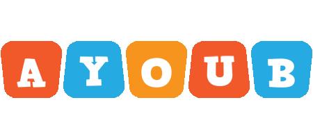 Ayoub comics logo