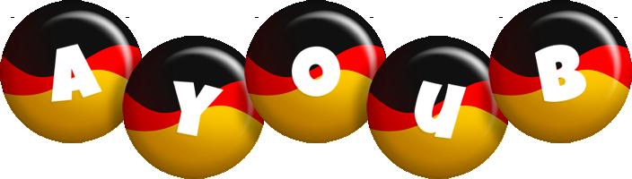 Ayoub german logo