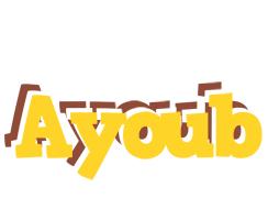 Ayoub hotcup logo