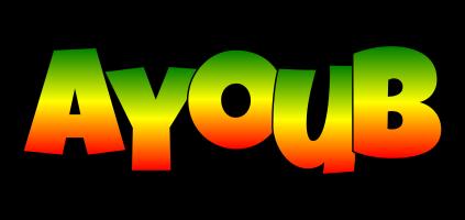 Ayoub mango logo
