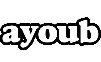Ayoub panda logo