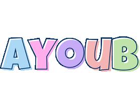 Ayoub pastel logo