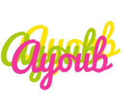 Ayoub sweets logo