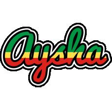 Aysha african logo