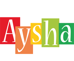Aysha colors logo