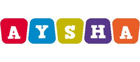 Aysha daycare logo