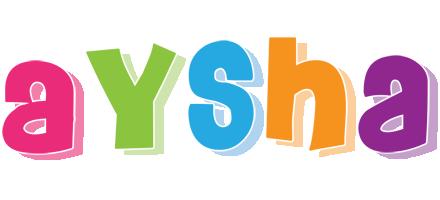 Aysha friday logo