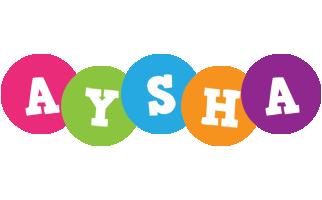 Aysha friends logo