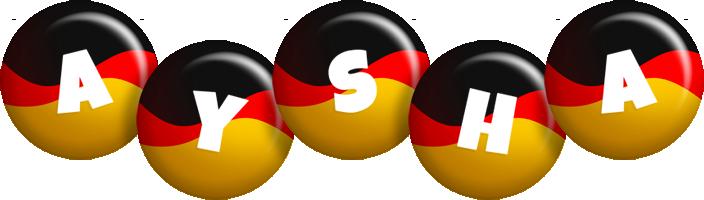Aysha german logo