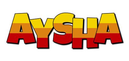 Aysha jungle logo