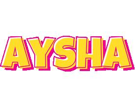 Aysha kaboom logo