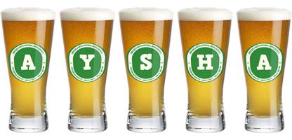 Aysha lager logo