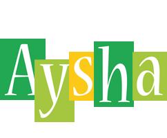 Aysha lemonade logo