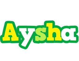 Aysha soccer logo