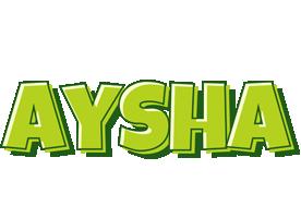 Aysha summer logo