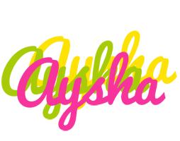 Aysha sweets logo