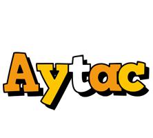 Aytac cartoon logo