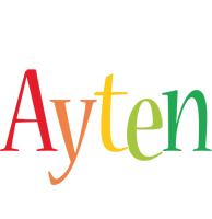 Ayten birthday logo