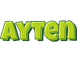 Ayten summer logo