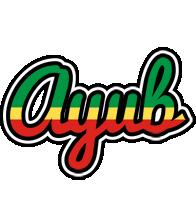 Ayub african logo