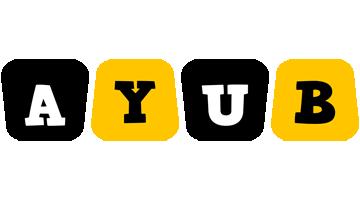 Ayub boots logo