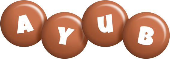 Ayub candy-brown logo