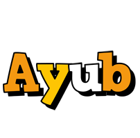 Ayub cartoon logo