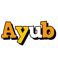 Ayub cartoon logo