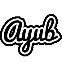 Ayub chess logo